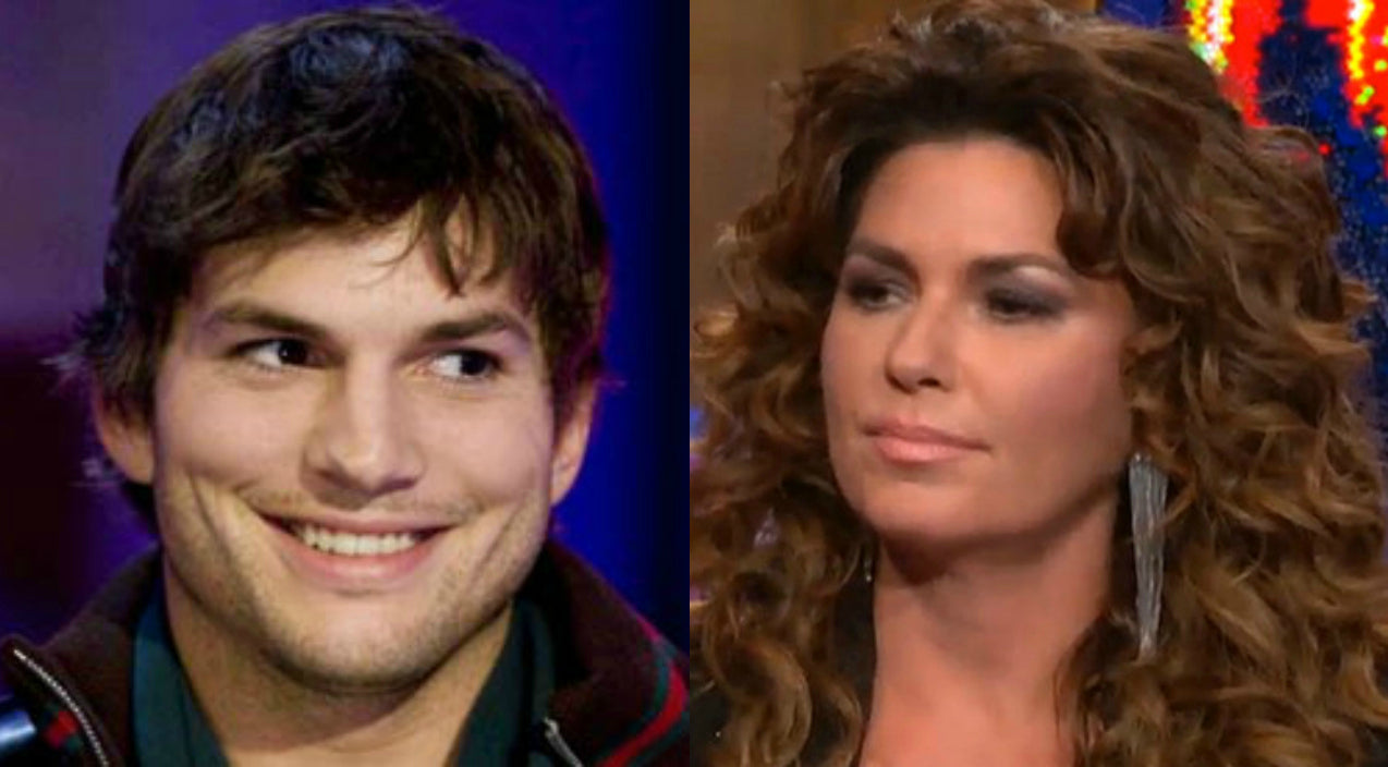 Shania twain Songs | Shania Twain Takes On Ashton Kutcher In Epic Twitter War | Country Music Videos