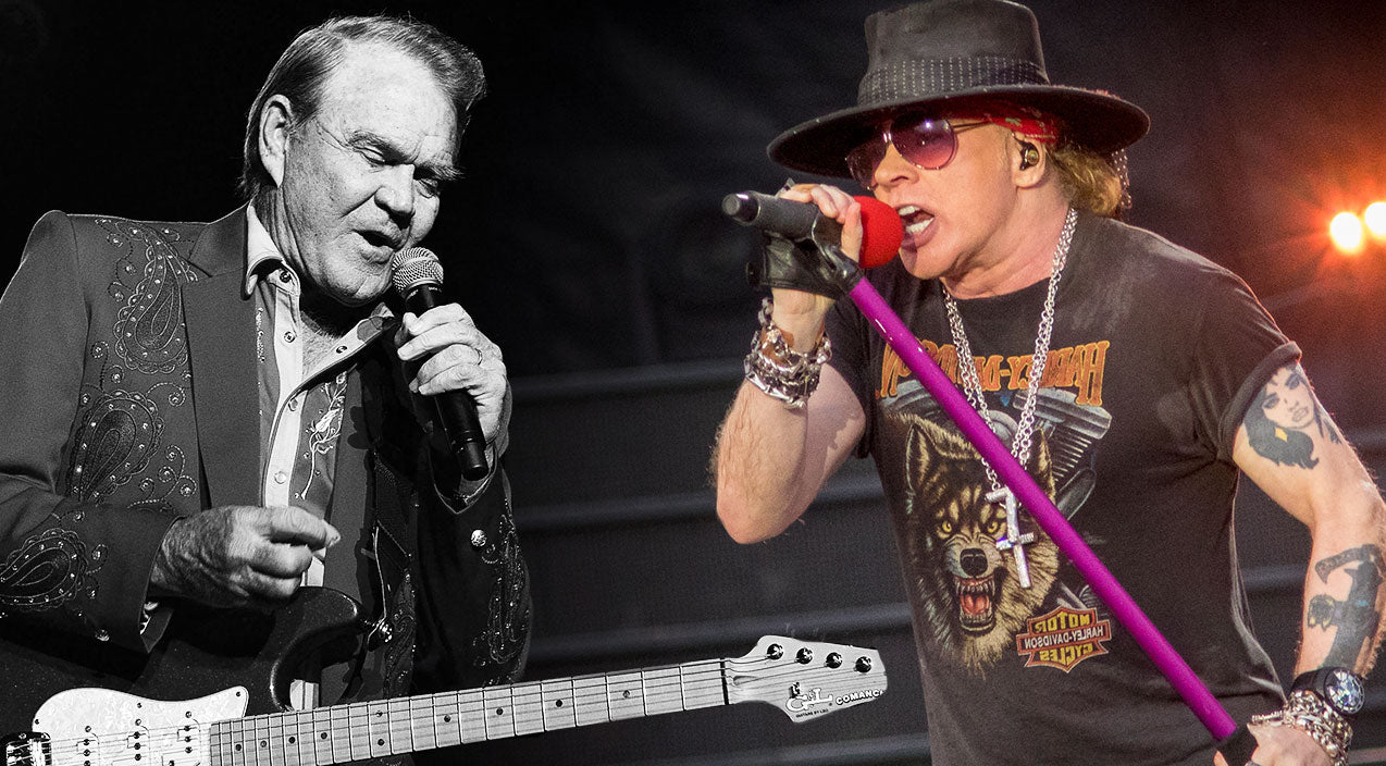 Guns n roses Songs | See Guns N' Roses' Surprise Tribute To Glen Campbell That Has Everyone Talking | Country Music Videos