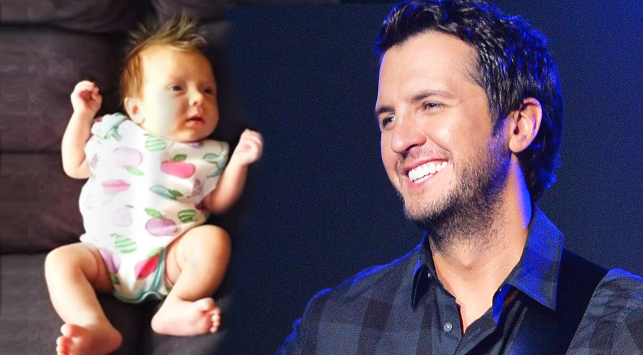 Luke bryan Songs | Crying Baby's Reaction To Luke Bryan's Voice Is Priceless | Country Music Videos