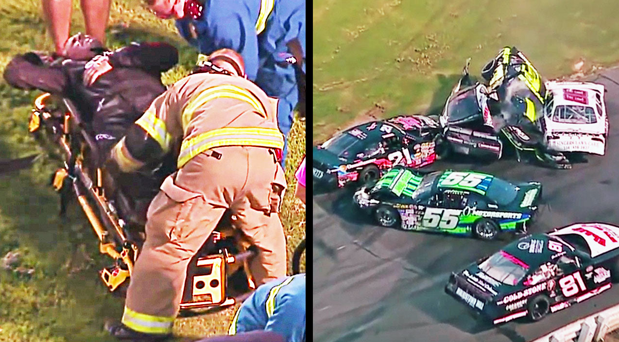 Nascar Songs | NASCAR Driver Hauled From Insane Crash On Stretcher | Country Music Videos