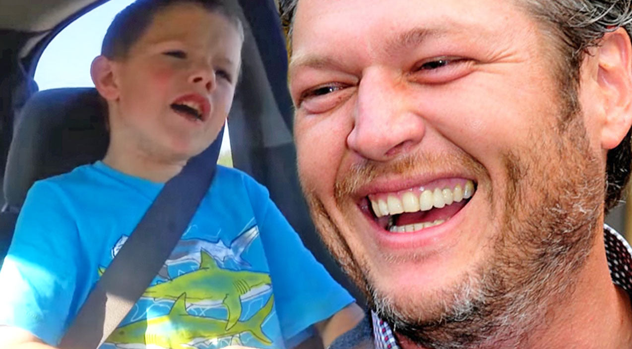 Blake shelton Songs | Adorable Little Boy Belts Out To Blake Shelton's 'Boys 'Round Here' | Country Music Videos