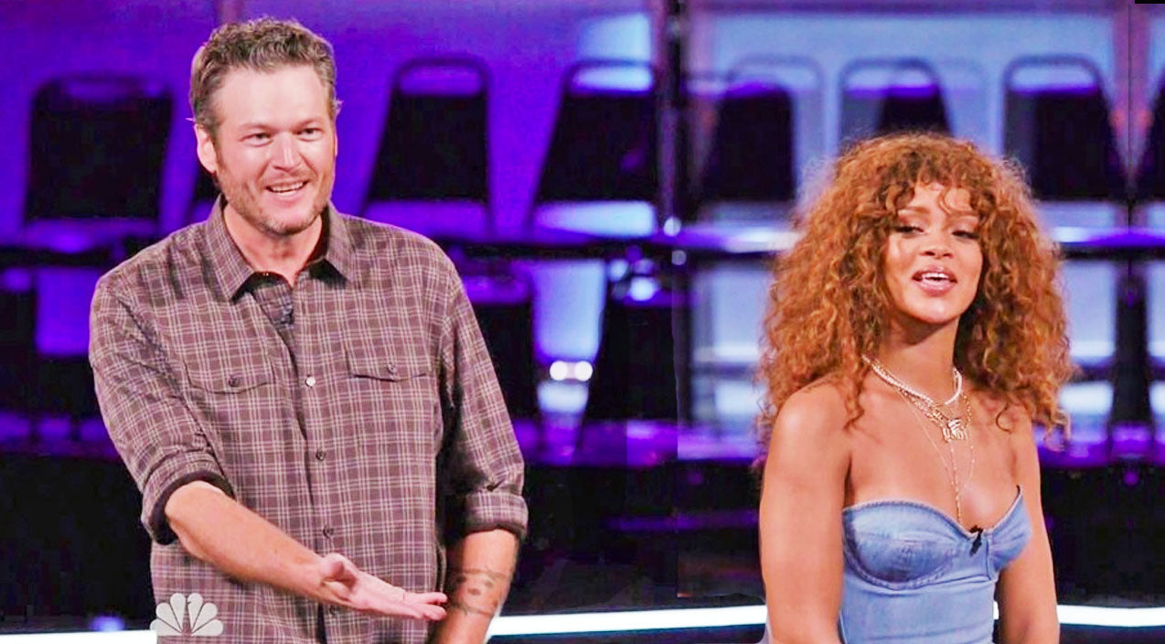 The voice Songs | HILARIOUS: Rihanna Calls Blake Shelton Ugly During Feisty Banter (WATCH) | Country Music Videos