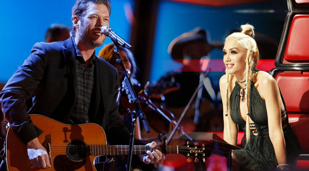 The voice Songs | Blake Shelton Delivers Stunning Live 'Gonna' Performance And Gwen Can't Stop Smiling | Country Music Videos