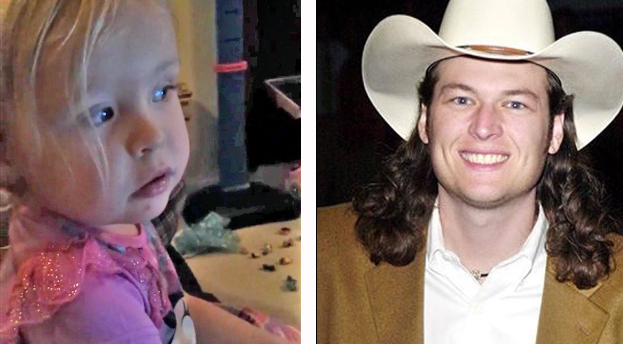 Modern country Songs | Adorable Little Girl Gets Confused By Old School Blake Shelton! | Country Music Videos