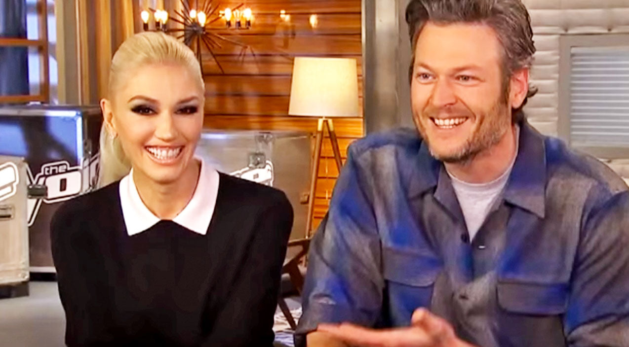 The voice Songs | Blake Shelton Shows His Affection For Gwen In New Interview | Country Music Videos