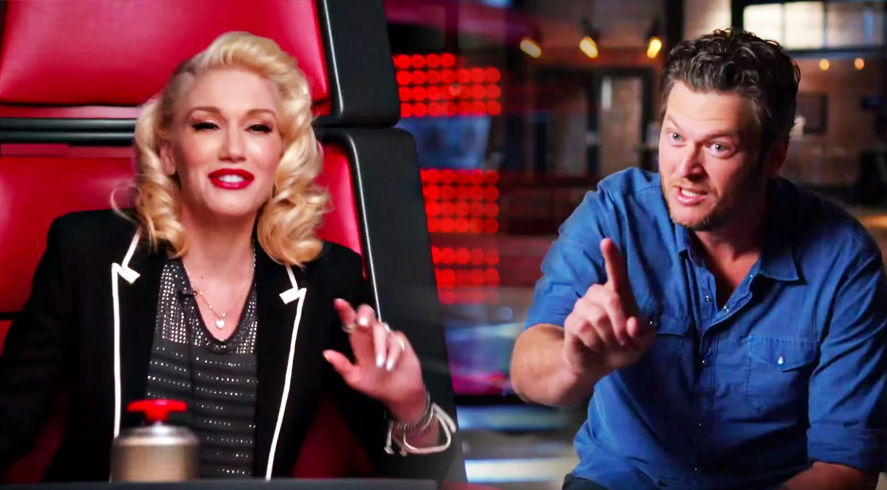The voice Songs | Blake & Gwen Resurrect 'Can't Touch This' With Epic Rap Video | Country Music Videos