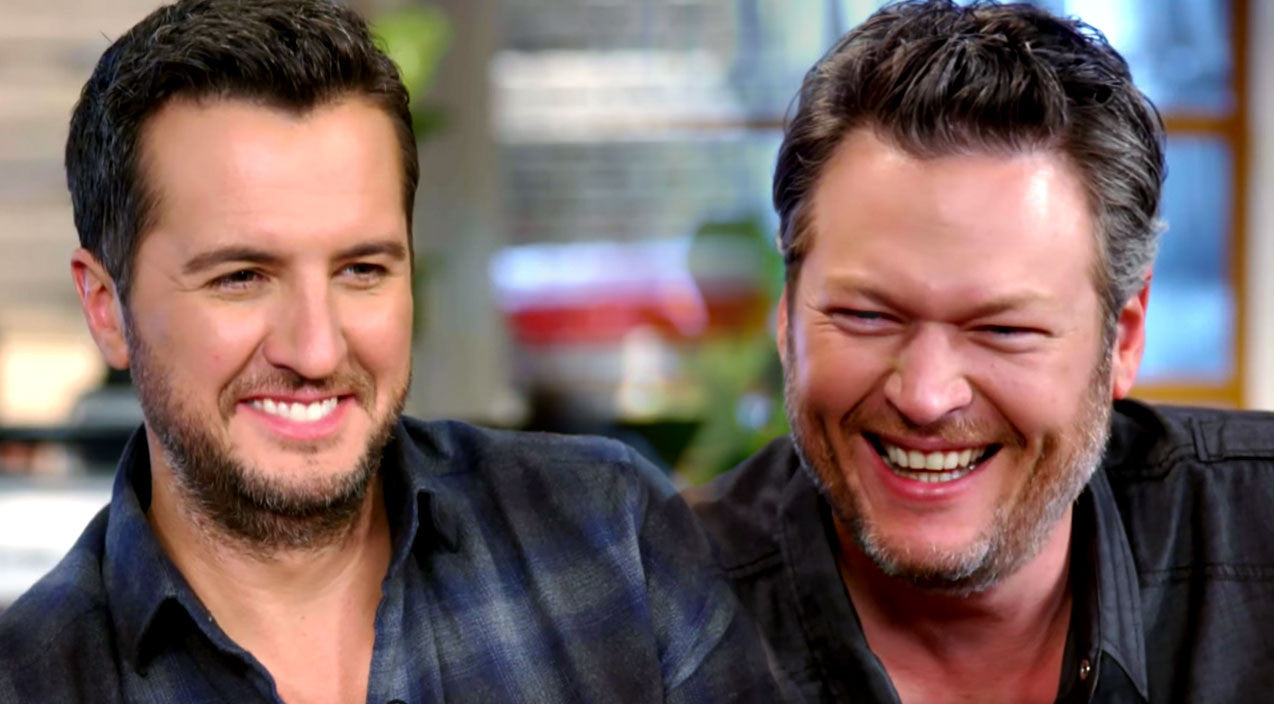 The voice Songs | Blake Shelton & Luke Bryan Can't Stop Giggling Talking About How They Met | Country Music Videos