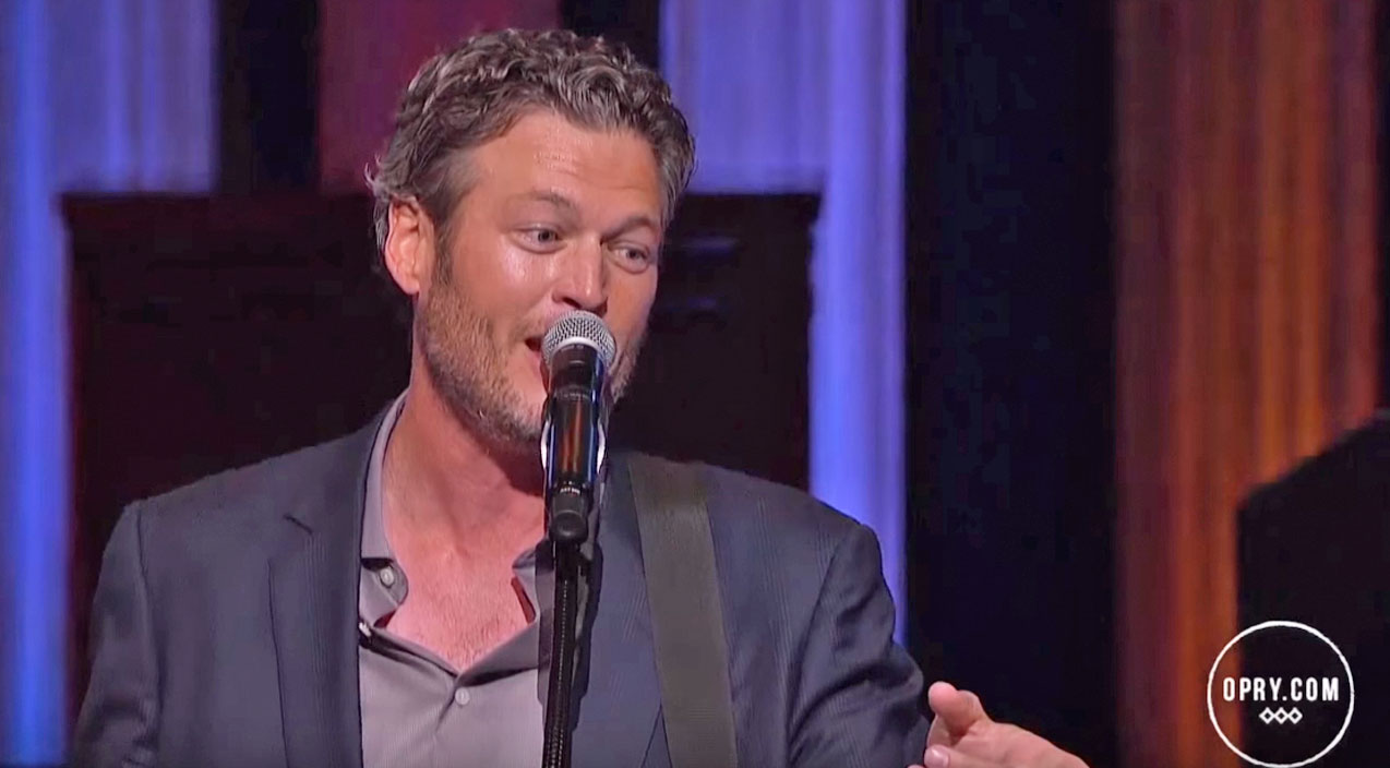 Blake shelton Songs | Blake Shelton Lights Up The Opry Stage With Spunky Performance Of 'Gonna' | Country Music Videos