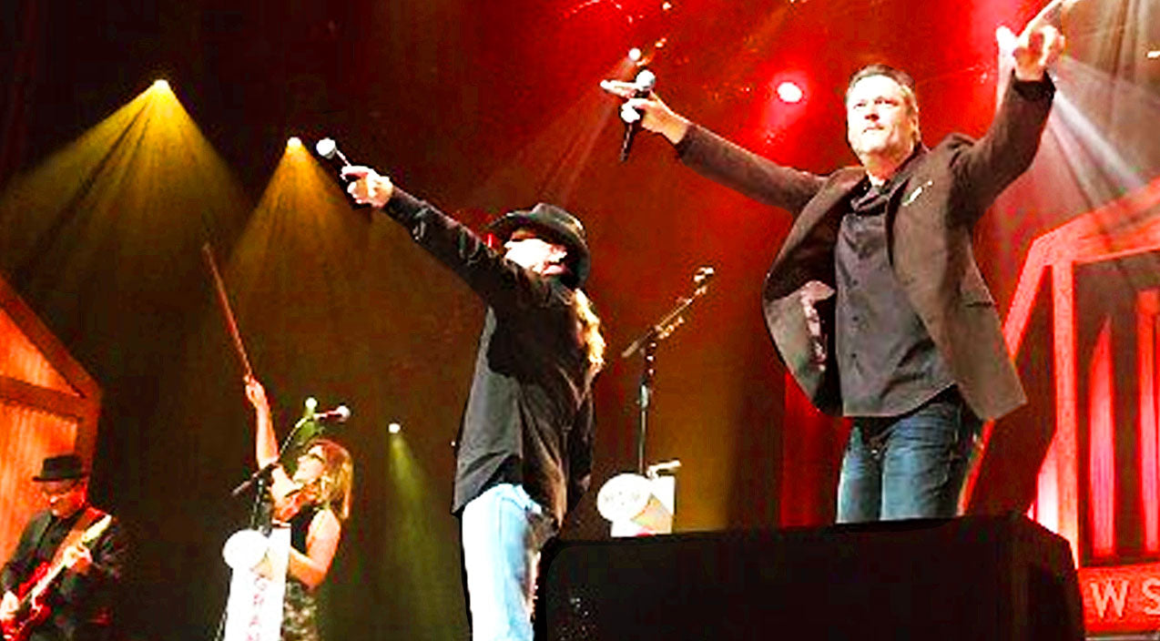 Trace adkins Songs | Blake Shelton Shocks Opry When He Crashes Trace Adkins' Show | Country Music Videos