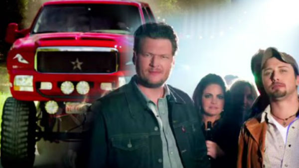 Blake shelton Songs | Blake Shelton - Boys 'Round Here feat. Pistol Annies and Friends | Country Music Videos