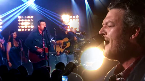 Blake shelton Songs | Blake Shelton - Just South of Heaven [iHeartRadio Album Release Party] | Country Music Videos