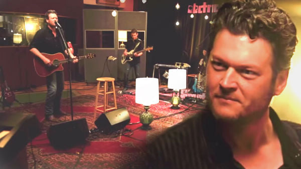 Blake shelton Songs | Blake Shelton - Sure Be Cool If You Did (The Live Room Sessions) (WATCH) | Country Music Videos