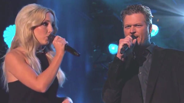 Blake shelton Songs | Blake Shelton and Ashley Monroe - Lonely Tonight (Jimmy Kimmel Live) (VIDEO) | Country Music Videos