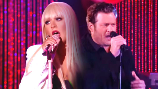 Blake shelton Songs | Blake Shelton and Christina Aguilera - Just A Fool | Country Music Videos