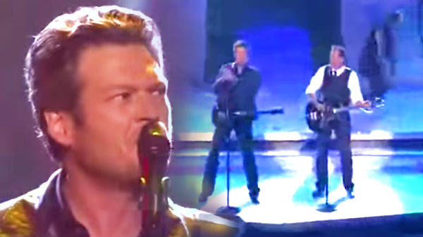 Blake shelton Songs | Blake Shelton and Kenny Loggins - Footloose - CMA Awards 2011 | Country Music Videos