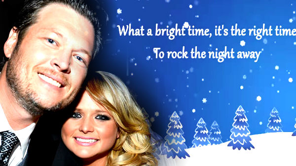 Miranda lambert Songs | Blake Shelton and Miranda Lambert - Jingle Bell Rock (VIDEO) | Country Music Videos