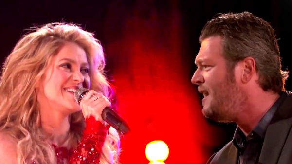 Blake shelton Songs | Blake Shelton and Shakira - Medicine (Live on The Voice) | Country Music Videos