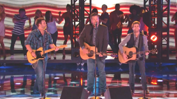 Blake shelton Songs | Blake Shelton and The Swon Brothers - Celebrity (The Voice Live) | Country Music Videos