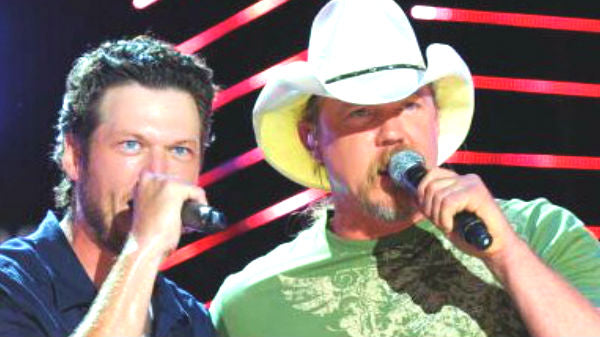 Trace adkins Songs | Blake Shelton and Trace Adkins - Hillbilly Bone (CMA 2010 Live) (VIDEO) | Country Music Videos