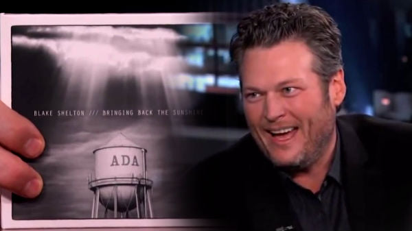 Reba mcentire Songs | Blake Shelton on His Hometown Ada, Oklahoma (On Jimmy Kimmel Live) (WATCH) | Country Music Videos