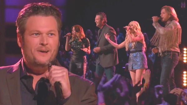 Blake shelton Songs | Blake Shelton's Team on The Voice Sings 'Sad Songs' by Elton John (VIDEO) | Country Music Videos