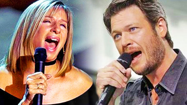 Blake shelton Songs | Blake Shelton & Barbra Streisand - I'd Want It To Be With You (WATCH) | Country Music Videos