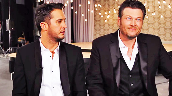 Blake shelton Songs | Blake Shelton - Random Thoughts with Luke (Luke Bryan & Blake) (VIDEO) | Country Music Videos