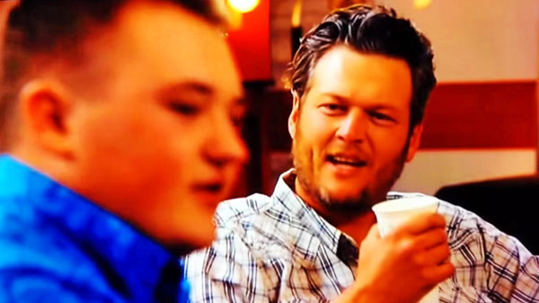 Blake shelton Songs | Blake Shelton and Jake Worthington - The Voice (Hilarious) | Country Music Videos