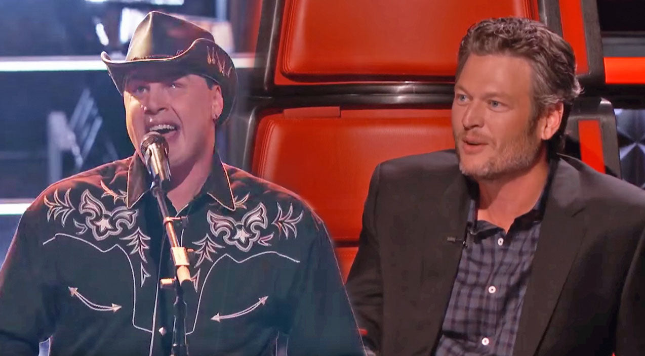 Blake shelton Songs | Team Blake's 'Blind Joe' Crushes Battle Round Performance With 'Old Time Rock and Roll' | Country Music Videos