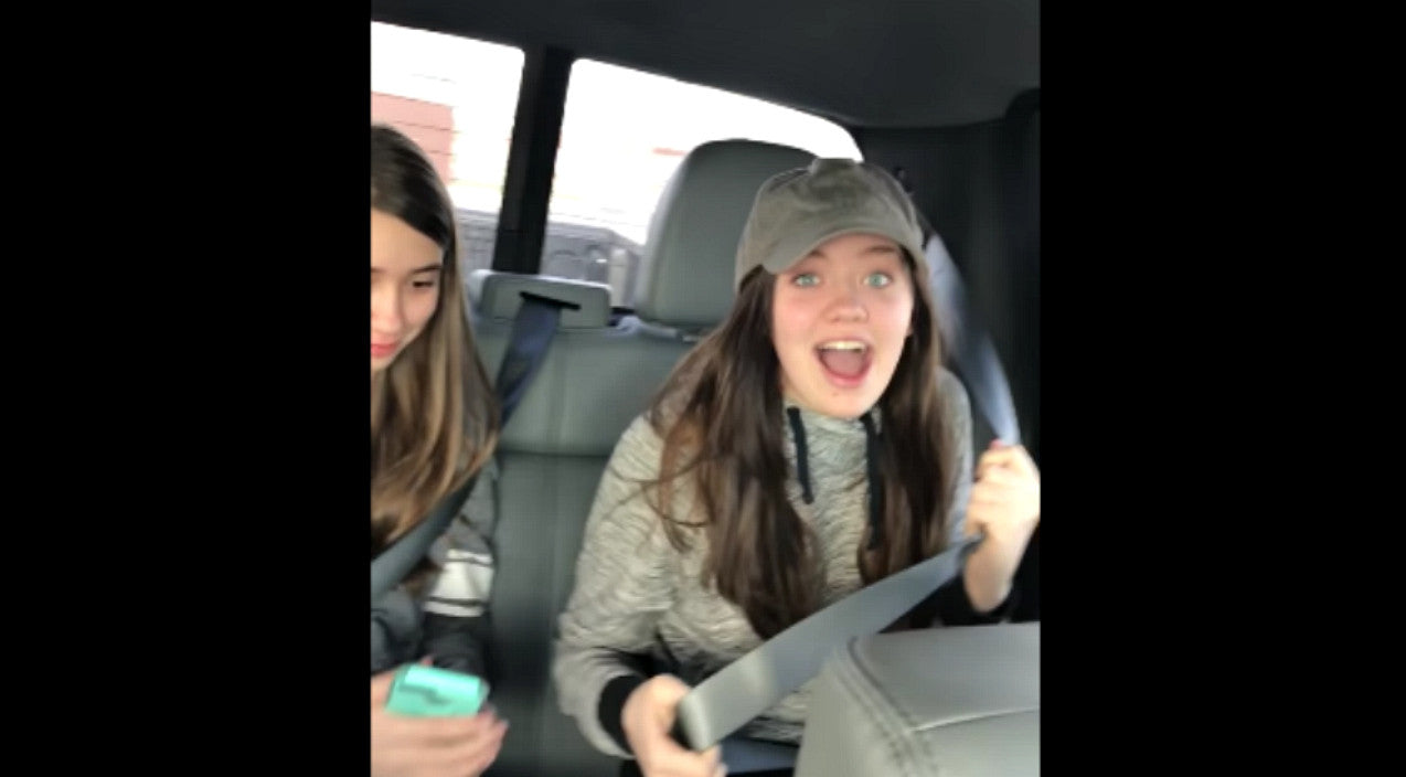 Unsuspecting Sisters Become Internet Stars After Dad Records Epic Reaction To 'Blinker Fluid' Prank | Country Music Videos