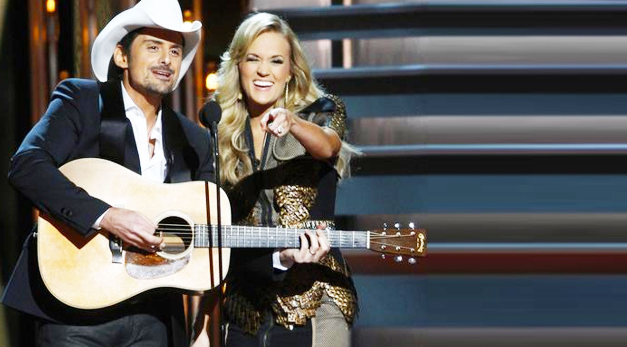 Cmas Songs | Carrie Underwood + Brad Paisley Couldn't Help But Include Blake Shelton In Their Opening Skit! | Country Music Videos