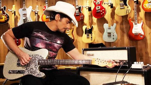 Brad paisley Songs | Brad Paisley Visits Guitar Center And Spills All | Country Music Videos