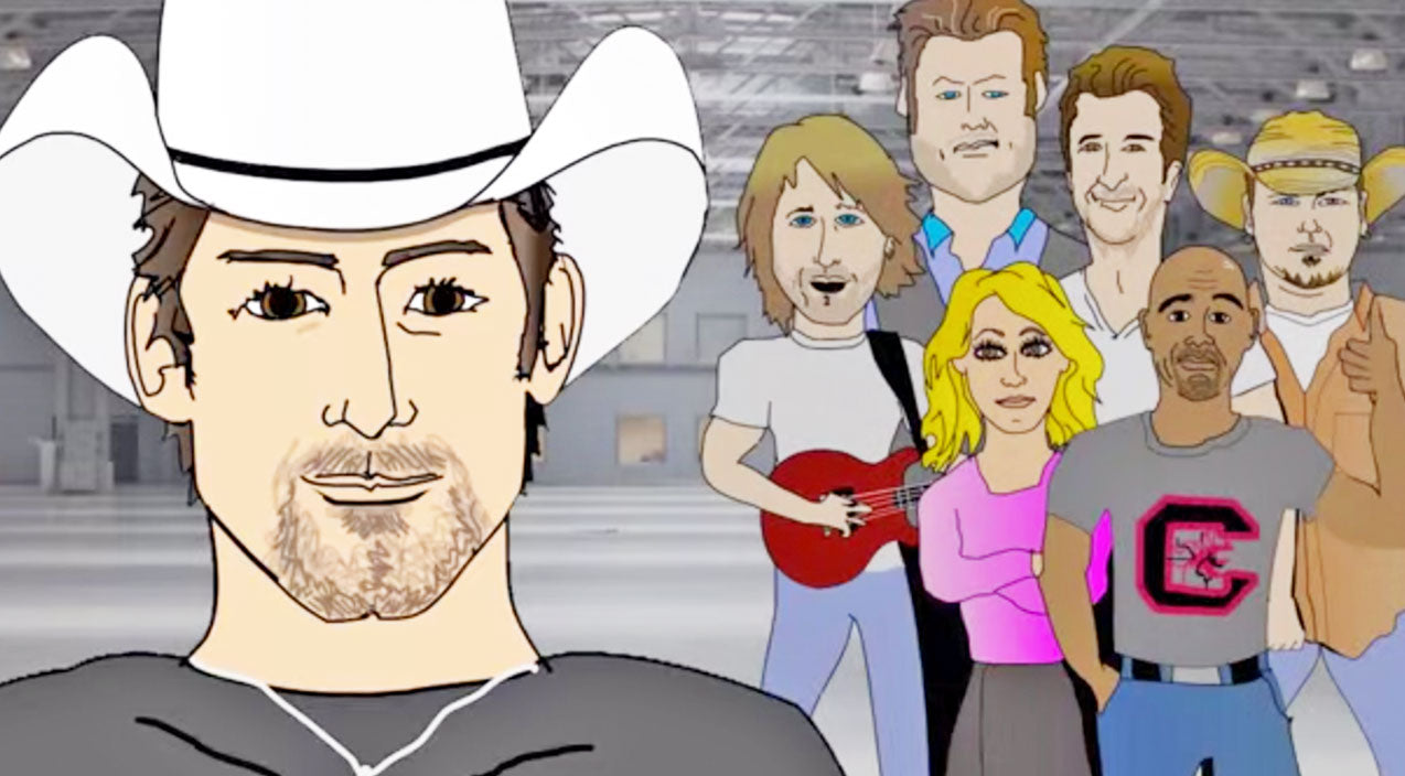 Classic country Songs | Country Music Superheroes Come Together In Brad Paisley's 'Crushin' It' Music Video (WATCH) | Country Music Videos