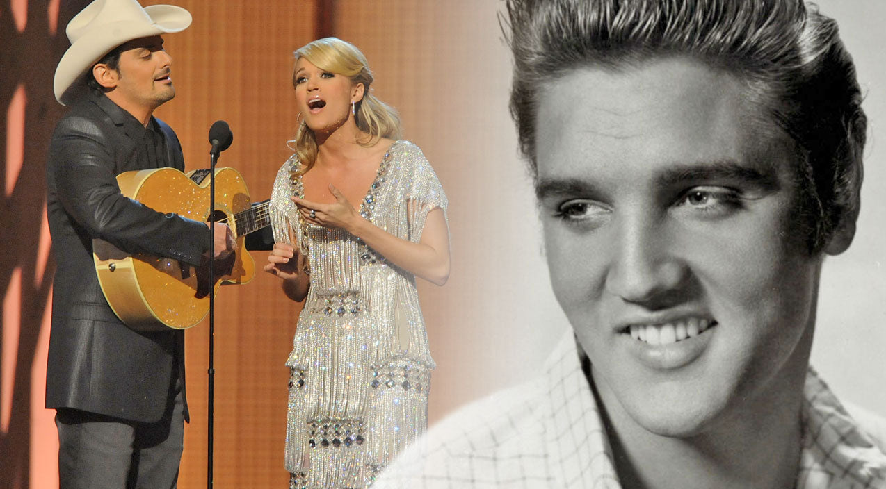 Elvis presley Songs | Carrie Underwood And Brad Paisley Perform The Song That Sparked Elvis' Career In Country (VIDEO) | Country Music Videos
