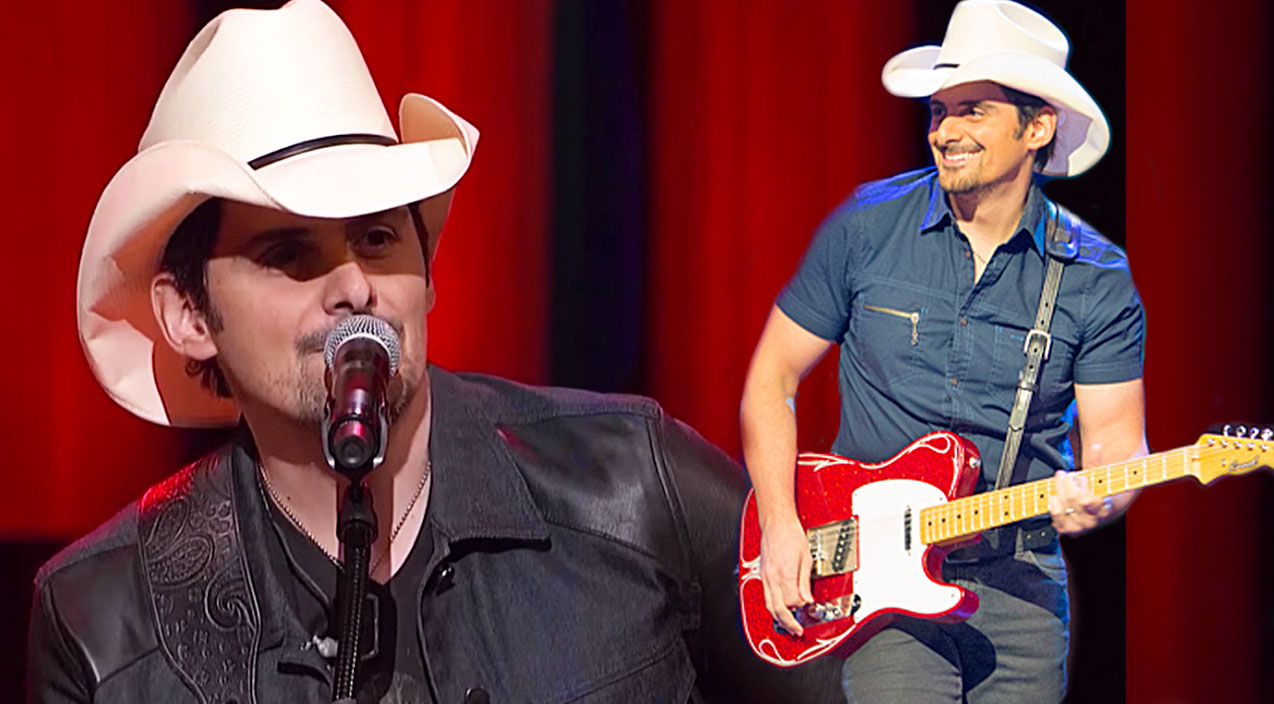 Brad paisley Songs | Brad Paisley Gives Spectacular Performance Of