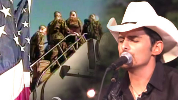 Brad paisley Songs | Brad Paisley - Then (Tribute To The Troops And Their Families) | Country Music Videos