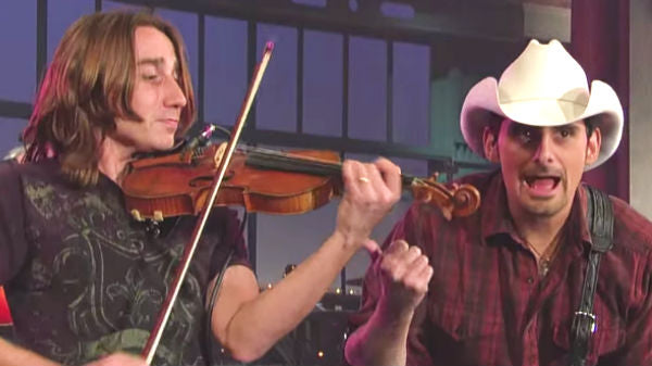 Brad paisley Songs   Brad Paisley - Time Warp (Live on Letterman)   Country Music Videos