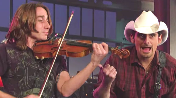 Brad paisley Songs | Brad Paisley - Time Warp (Live on Letterman) | Country Music Videos