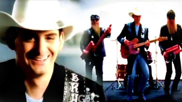 Brad paisley Songs | Brad Paisley with ZZ Top - Sharp Dressed Man | Country Music Videos