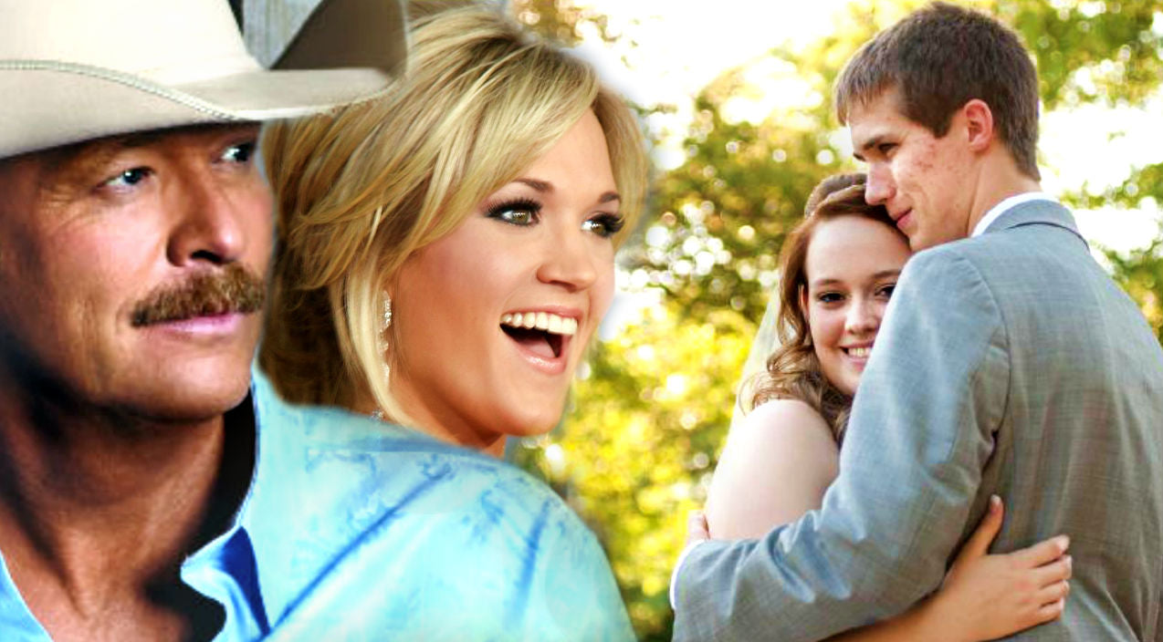 Carrie underwood Songs   Bride Sings Alan Jackson and Carrie Underwood's 'Look At Me' As She Walks Down The Aisle (Stunning!) (WATCH)   Country Music Videos