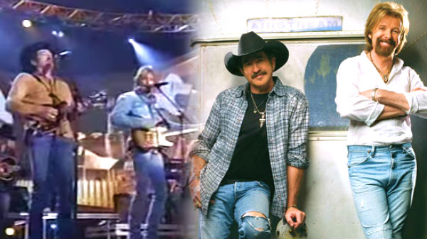Brooks and dunn Songs | Brooks & Dunn - Red Dirt Road (LIVE) | Country Music Videos