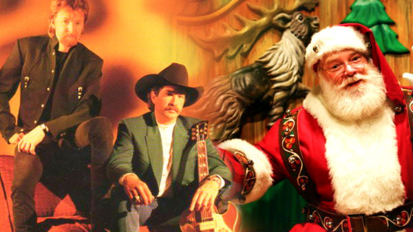 Brooks and dunn Songs | Brooks & Dunn - Who Says There Ain't No Santa | Country Music Videos