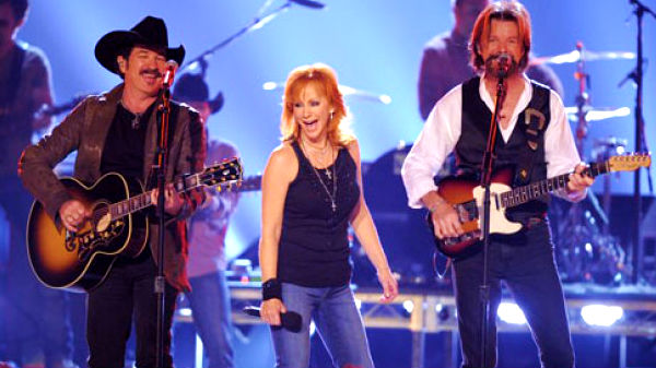 Reba mcentire Songs | Brooks and Dunn with Reba McEntire - Put A Girl In It | Country Music Videos