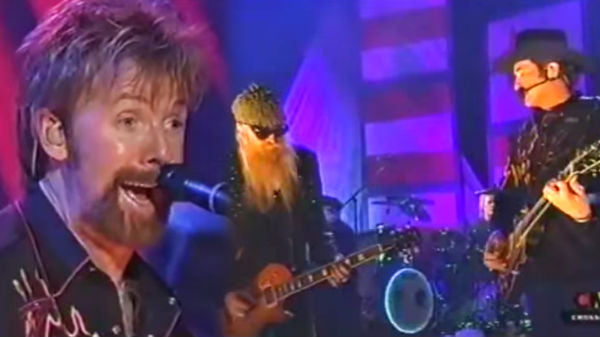 Brooks and dunn Songs | Brooks and Dunn with ZZ Top - Hard Workin' Man and Rough Boy | Country Music Videos