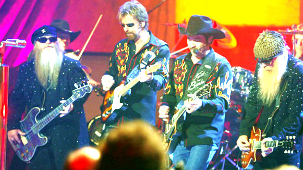 Brooks and dunn Songs | Brooks and Dunn with ZZ Top - Rough Boy | Country Music Videos