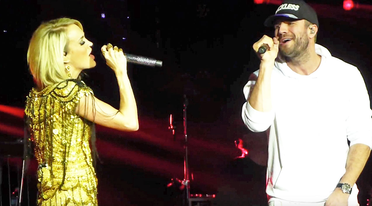 Sam hunt Songs | Carrie Underwood & Sam Hunt Deliver Surprise Sultry Performance | Country Music Videos