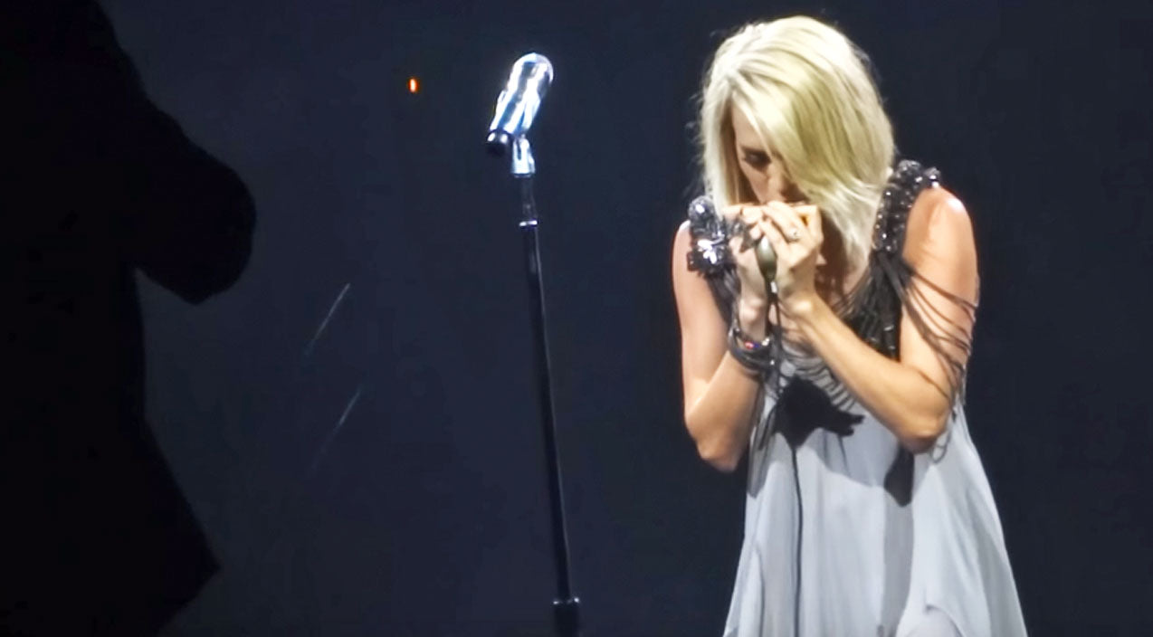 Modern country Songs | Watch Carrie Underwood Break It Down On The Harmonica | Country Music Videos