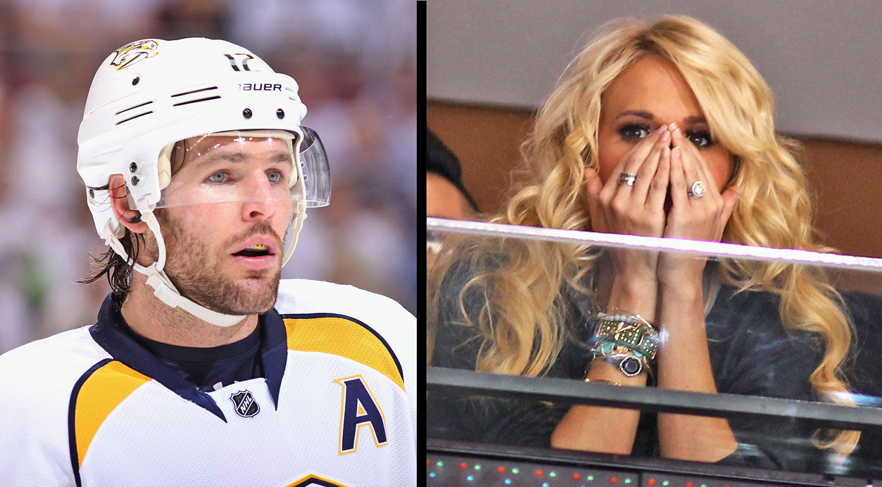 Carrie underwood Songs | Carrie Underwood's Husband, Mike Fisher Leaves Game With Potentially Serious Injury | Country Music Videos