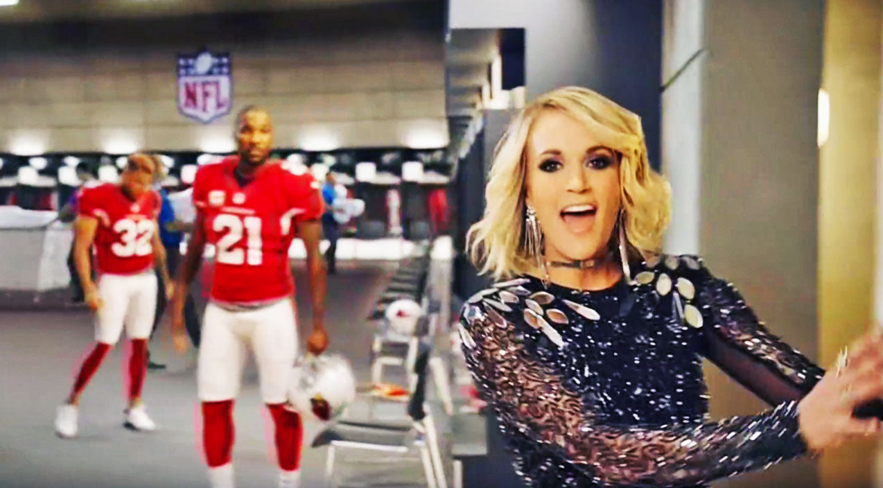 Modern country Songs | Carrie Underwood's Powerhouse 'Sunday Night Football' Premiere Is Like Nothing You've Seen Before | Country Music Videos