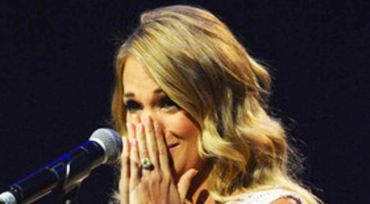 Modern country Songs | Emotional Carrie Underwood Cries During Stage Confession | Country Music Videos